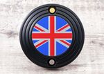 "Street Twin, Bonneville T120 & Thruxton/R. Right Side ACG Badge/Decal. ""Black Union Flag"""